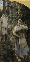 Aino Myth, Triptych 1