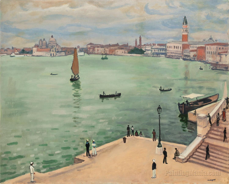 Grey Weather in Venice