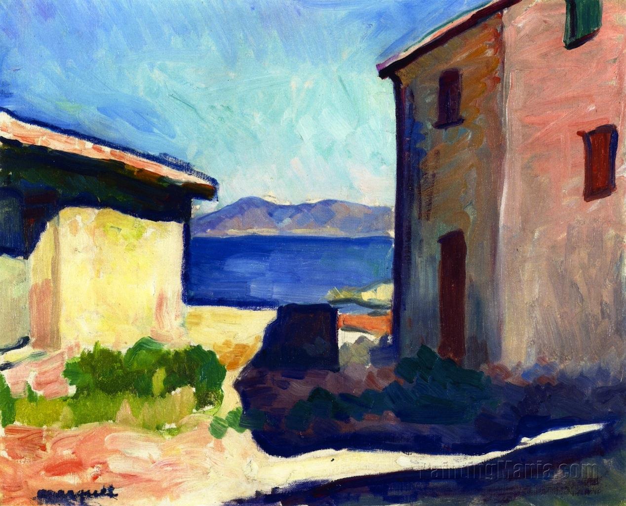 House at Saint-Tropez