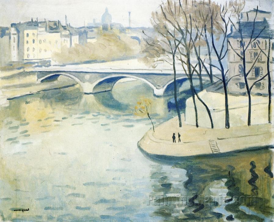 The Ile Saint Louis and the Pont de la Tournelle