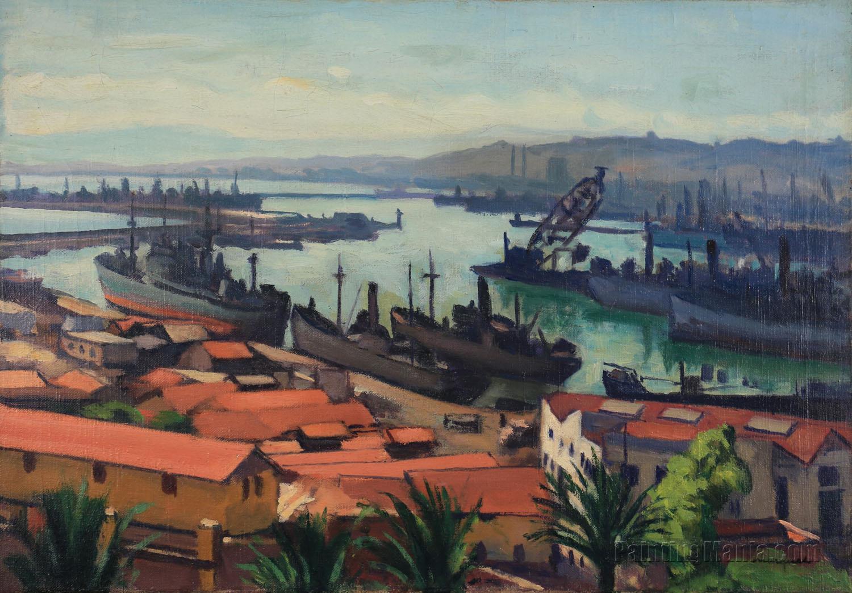 Les quais du port de l'Agha
