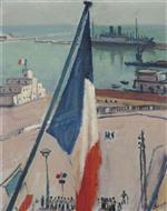 Alger, les drapeaux (Algiers, the Flags)