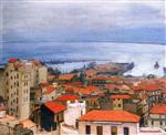 Algiers, View of Mustapha, Rain