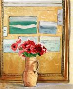 Bouquet by the Mirror