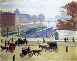 The Cabs on the Pont Neuf, Paris
