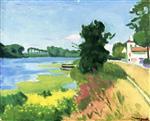 Herblay, Summer, Banks of the Seine