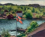Hesnes and the Norwegian Flag