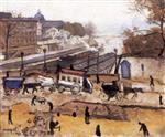 Paris, Le Pont Neuf, Travaux
