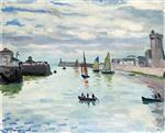 The Port of La Chaume, Les Sables d'Olonne 1921