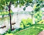 Riverbank at Triel