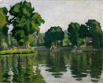 The Seine at Poissy 1929