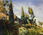 The Three Cypresses, Algiers
