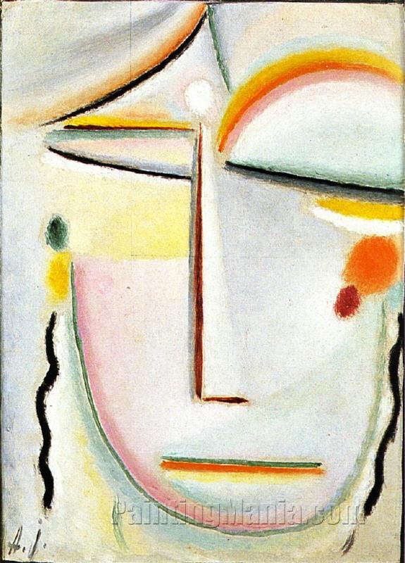 Abstract Head: Enlightenment II