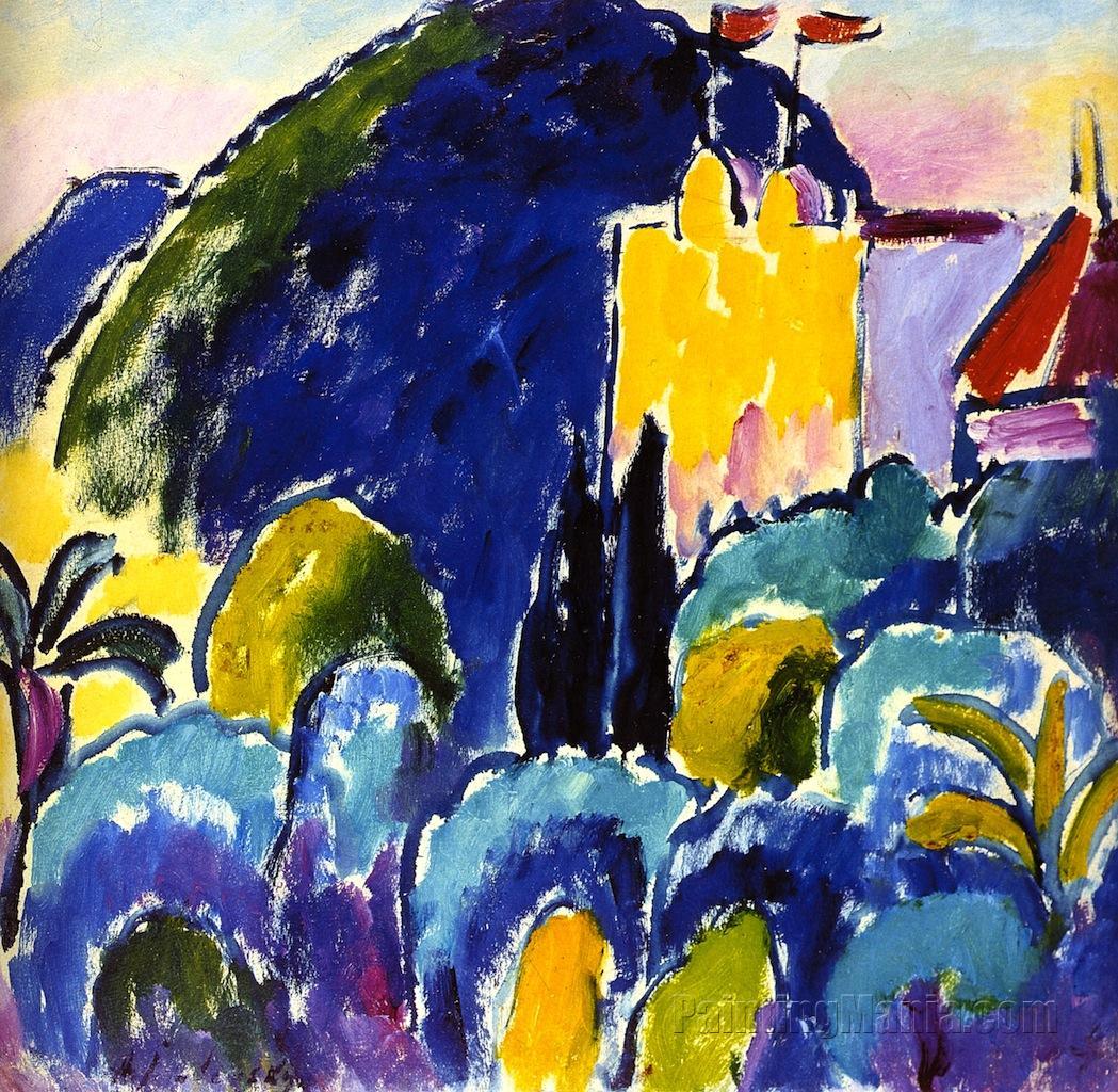 Yellow House - Bordighera