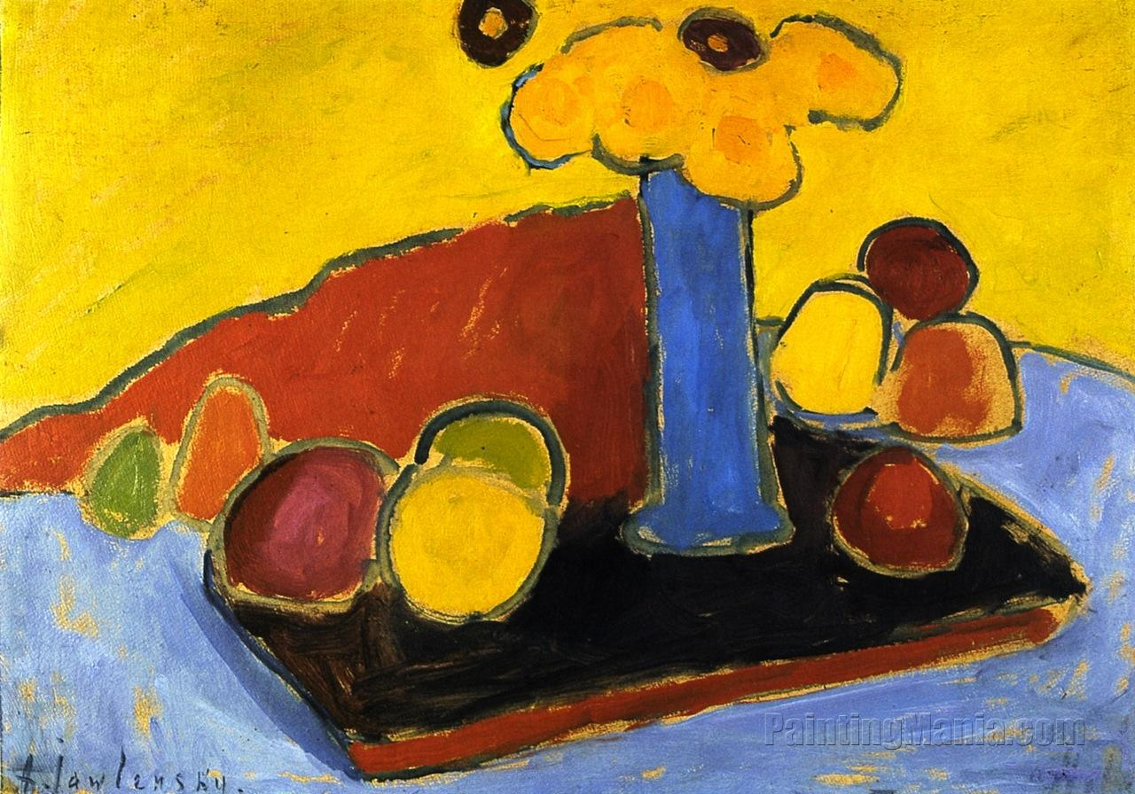 Yellow Sound (Still Life with Tray)