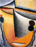 Abstract Head (Frau Luboschtschinsky)