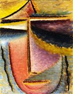 Abstract Head: Head of a Woman