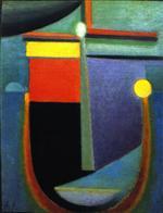 Abstract Head: Moonlight