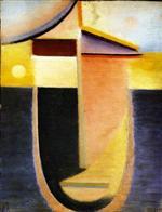 Abstract Head: Morning Light