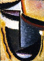 Abstract Head: Mourning