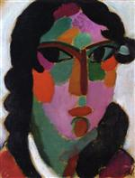 Head of a Girl 1916