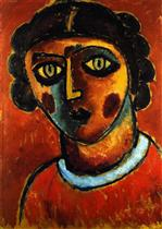 Head of a Woman c.1912