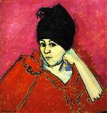 Helene with Dark Blue Turban