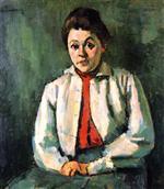 Helene in Red Waistcoat