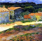 Landscape with Houses in Provence