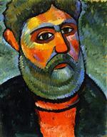 Man with Green Beard