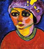 Violet Turban