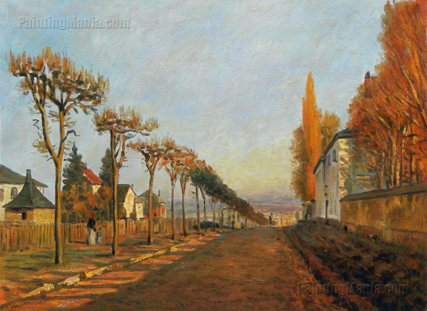 Chemin de la Machine, Louveciennes