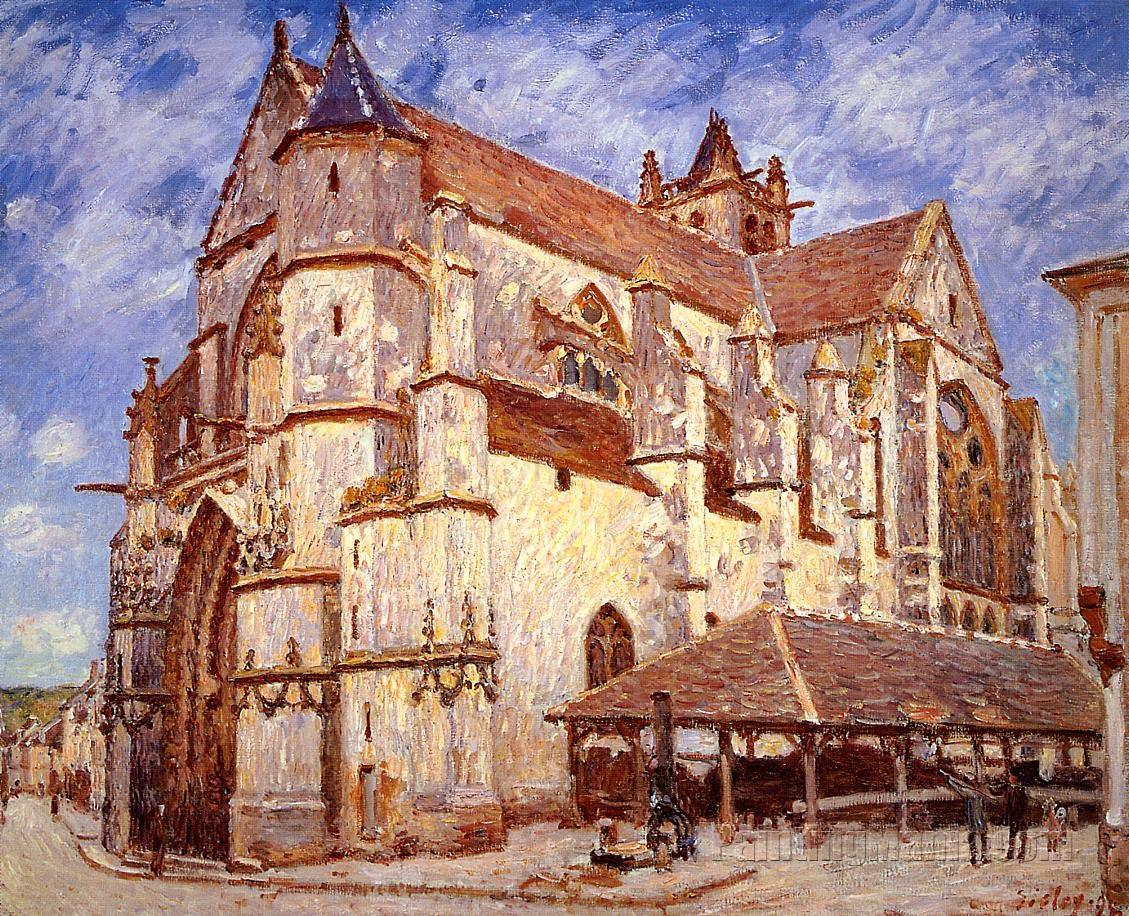 The Church at Moret, Afternoon