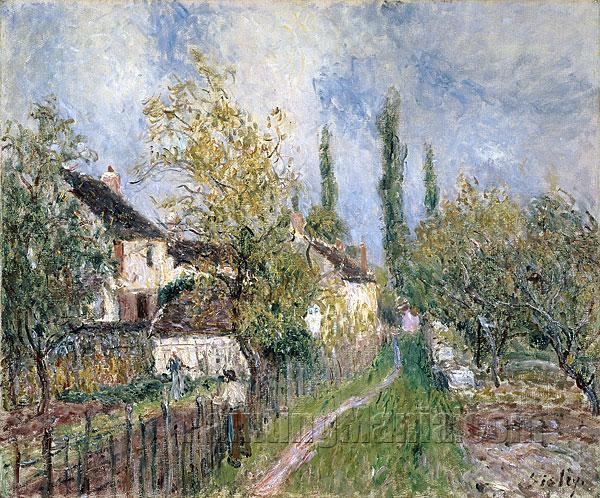A Path at Les Sablons
