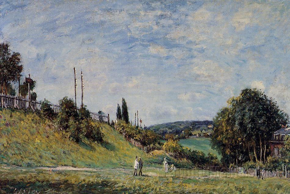 Railroad Embankment at Sevres
