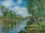 Banks of the Loing 1885