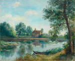 Banks of the Loing at Saint-Mammes 1892