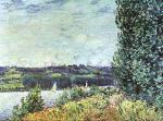 Banks of the Seine, Wind Blowing