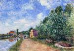 Canal du Loing - Chemin de Halage