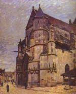 The Church at Moret, Winter