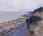 Cliffs at Penarth, Evening, Low Tide
