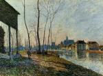 A February Morning at Moret-sur-Loing