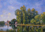 The Loing at Moret 1886