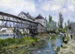 Provencher's Mill at Moret
