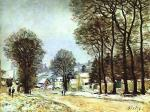 Snow at Louveciennes 1874