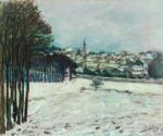 Snow at Marly-le-Roi