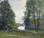 A Turn of the River Loing, Summer 1896