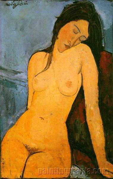 Seated Nude 1916