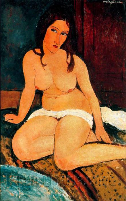 Seated Nude (1917)