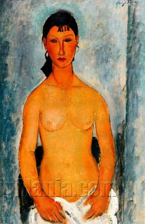 Standing Nude - Elvira